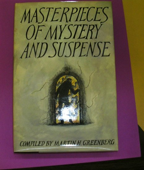 Masterpieces of Mystery & Suspense Compiled by Martin Greenberg HB w/DJ