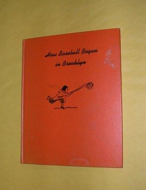 How Baseball Began in Brooklyn 1958 by Le Grand