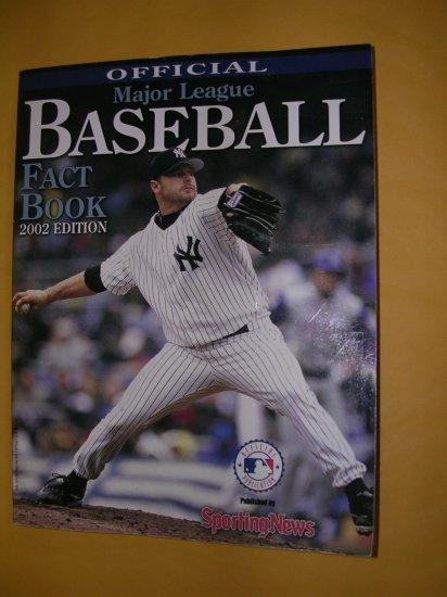 Officiial Major League Baseball Fact Book 2002 Edition