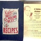 Vintage El Molino Best Recipes Cookbook 1953 includes Allergy Recipes too