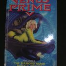Arthur Clarke's Venus Prime V The Diamond Moon by Paul Preuss pprback 1990 1st Avon Prtg