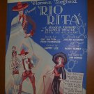 Rio Rita Vintage Sheet Music from Ziegfeld musical, 1926