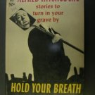 Alfred Hitchcock's Hold Your Breath, Dell 3658, 1963 paperback