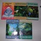 Roger Zelazny Amber Novels The Merlin Cycle set of 5