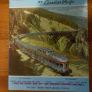 Canadian Pacific Eastward Across Canada magazine brochure 1962