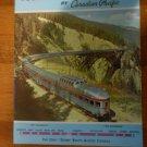 Canadian Pacific Eastward Across Canada magazine brochure 1962