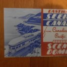 Canadian Pacific Eastward Seeing Canada brochure 1950's