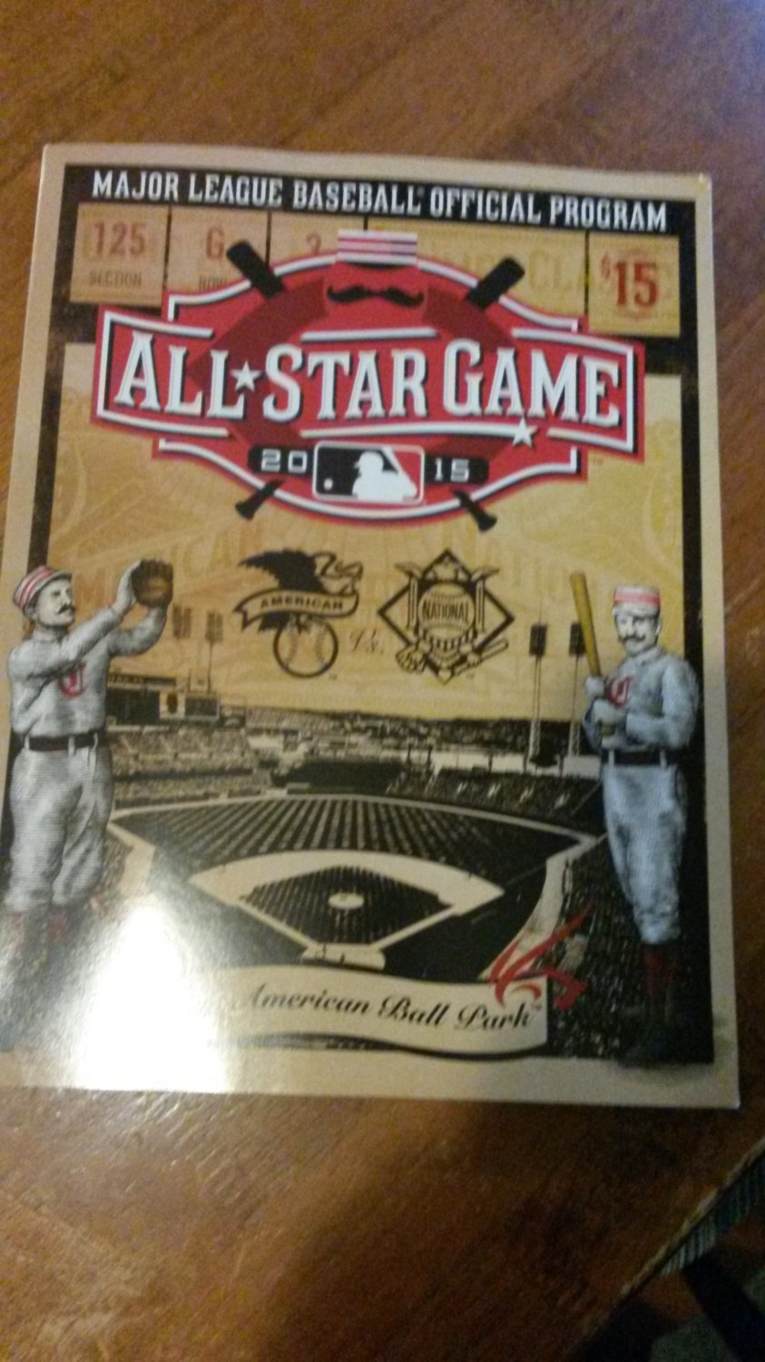 2015 MLB All Star Game program