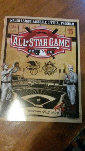 2015 MLB All Star Game program