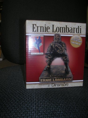 Cincinnati Reds Hall of Fame Catcher Ernie Lombardi Replica Statuette