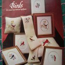 10 Vintage Bird Counted Cross Stitch Patterns Robin Jay Cardinal Thrasher Tanager