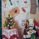 Vintage Scandia Christmas Cross Stitch Patterns Placemats VIII Ornaments