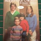 Vintage Knitting Patterns Raglans For Children 4 6 8 10 12 14 Boys Girls