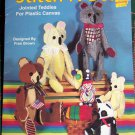Plastic Canvas Patterns STITCH A BEAR Jointed Teddy Book 184 Baby Panda Toy