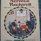 4 Christmas Norman Rockwell Cross Stitch Patterns Samplers Stockings Paragon Book