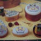 Cross Stitch Patterns Shaker Pincushions Stitch W Sudberry Floral Sewing Themes