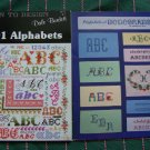 2 Book Lot 199 Vintage Cross Stitch Patterns Learn TO Design Alphabets Monograms
