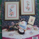Vintage Country Cross Stitch Patterns Flowers & Birds Nature's Harmony Book 62