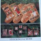 Vintage Prairie Schooler Cross Stitch Pattern Stockings More Ornaments Miniatures 28