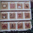 Vintage 1980s Prairie Schooler Cross Stitch Pattern A Prairie Year II Book 23 Primitive Needlework