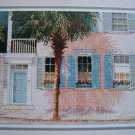 1989 Vintage Cross Stitch Pattern Palm Shadows Barbara & Cheryl Leaflet # 14