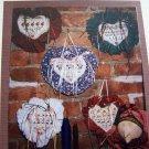 5 Cross Stitch Pattern Shepherds Bush Door Hearts Christmas Thanksgiving Folio 3