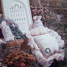 Vintage Cross Stitch Pattern Shepherd's Bush English Garden Sampler Sachets Pillow