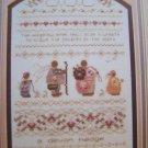 Vintage Cross Stitch Pattern Shepherd's Bush Sampler Devon Hedge