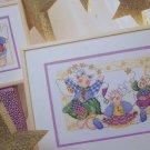 Vintage Cross Stitch Patterns Littlest Patchwork Angel Pictures Great Big Graphs
