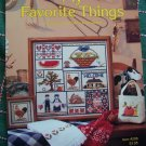 Vintage Country Cross Stitch Patterns My Favorite Things Farm House Treasures # 208