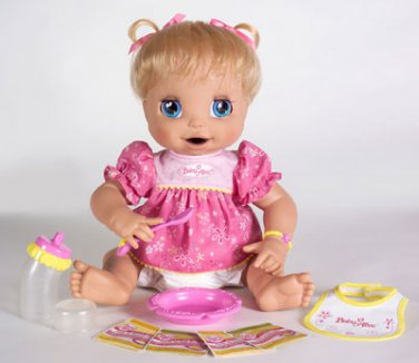 Baby Alive Real Surprises Fully Interactive Doll English