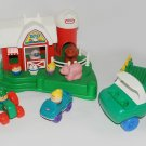 Vintage Little Tikes Farm Barn & Petting Zoo Super Rare