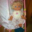 Beautiful Vintage Baby Girl Doll with lights and crown