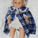VINTAGE BALICA BABY STAMPED MAX ZAPF BLOND 18 IN. DOLL BEAUTIFUL GERMANY