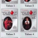 Taboo complete series - 1, 2, 3, 4, 5 & 6 - Classic XXX DVD