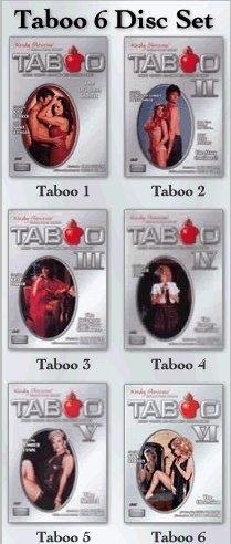 Taboo complete series - 1, 2, 3, 4, 5 & 6 - Classic XXX DVD