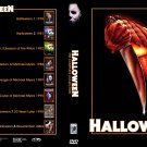 Halloween complete movie set 1-8 + remakes + bonus. 12 disc DVD set.