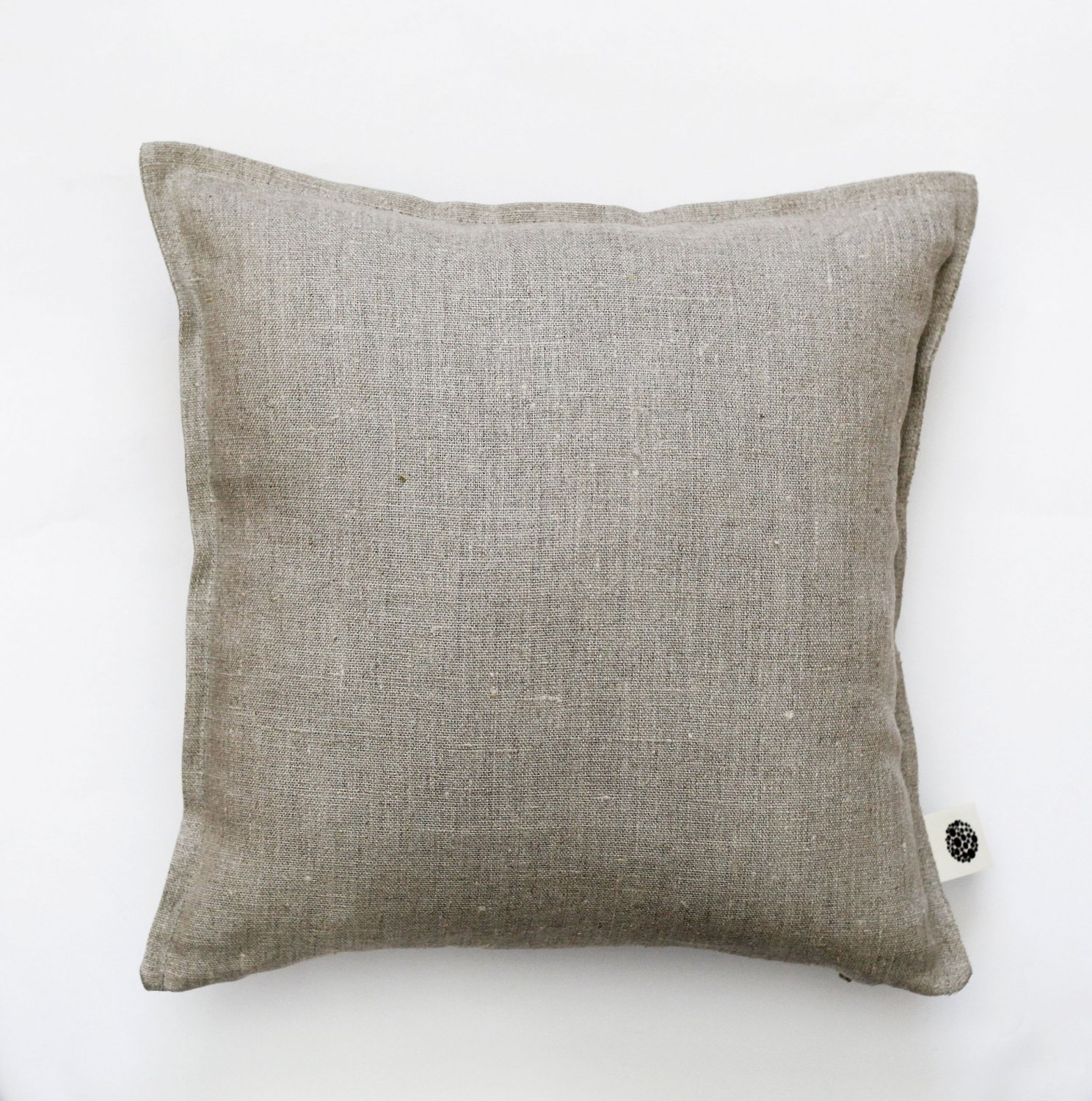 Decorative linen pillow cover 18x18 inch size