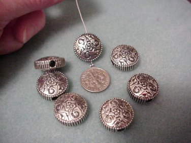 Southwestern Concho Style Beads 18mm x 81/2mm Bead Supplies DIY
