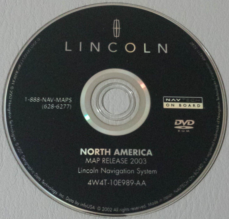 2003 2004 2005 2006 lincoln navigator aviator ls sedan navigation system dvd map. Black Bedroom Furniture Sets. Home Design Ideas