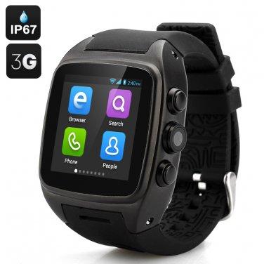 iMacwear SPARTA M7 Smart Watch Phone ANDROID Waterproof