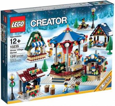 NEW LEGO WINTER VILLAGE MARKET Set 10235 nib misb christmas city scene creator