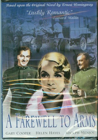 DVD - A Farewell to Arms - Love in wartime