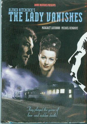 DVD - The Lady Vanishes - Alfred Hitchcock's tale of suspense