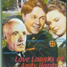 DVD - Love Laughs at Andy Hardy - Mickey Rooney