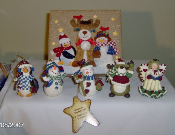 Handcrafted Christmas Tree Ornaments