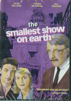 DVD - The Smallest Show on Earth -- Peter Sellers