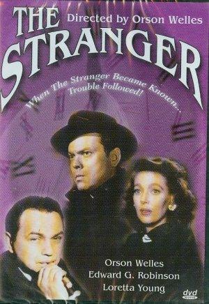 DVD - The Stranger -- Orson Welles, Edward G. Robinson, Loretta Young