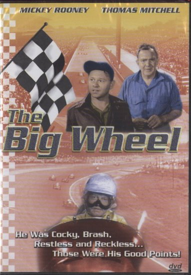 DVD - The Big Wheel -- Mickey Rooney