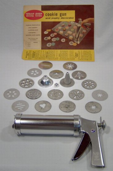 Wear-Ever Cookie Gun and Pastry Decorator
